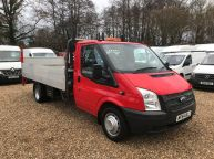 FORD TRANSIT 350 EF LWB DROPSIDE WITH TAIL LIFT 2.2 TDCI 125BHP *6 SPEED!!!  - 1137 - 3