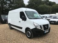 NISSAN NV400 2.3 DCI MWB L2H2 *ONLY 36600 MILES* HIGH ROOF SE **6 SPEED!!! - 1090 - 3