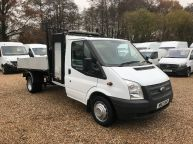 FORD TRANSIT 350 SINGLE CAB TIPPER WITH TOOLBOX **BRAND NEW BODY** 2.2 TDCI *6 SPEED!!!  - 1139 - 3