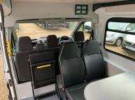 FORD TRANSIT 350 L3H2 LWB MESS VAN WITH TOILET **ONLY 9700 MILES** 2.2 TDCI *6 SPEED!!! - 1200 - 15