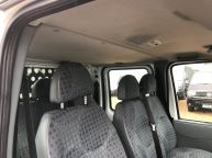 FORD TRANSIT 350 E/F LWB CREWCAB DROPSIDE WITH CAGE 2.4 TDCI *AIR CON!!! - 994 - 11
