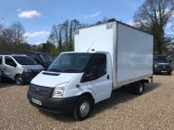 FORD TRANSIT 350 EF LWB *155BHP* BOX WITH TAILLIFT 2.2 TDCI *6 SPEED!!! - 974 - 1
