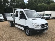MERCEDES BENZ SPRINTER 313 CDI MWB DOUBLE CAB TIPPER **Sorry Now Sold!!! - 1058 - 3