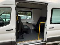 FORD TRANSIT 350 L3H2 LWB MESS VAN WITH TOILET **ONLY 9700 MILES** 2.2 TDCI *6 SPEED!!! - 1200 - 14