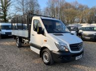 MERCEDES BENZ SPRINTER 313 CDI MWB *AUTOMATIC* NEW TIPPER BODY WITH CAGE *CHOICE OF 3!!! - 1239 - 2