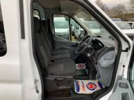 FORD TRANSIT 350 L3H2 LWB MESS VAN WITH TOILET **ONLY 9700 MILES** 2.2 TDCI *6 SPEED!!! - 1200 - 12