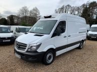 MERCEDES BENZ SPRINTER 313 CDI **FRIDGE / FREEZER WITH OVERNIGHT STANDBY** MWB HIGH ROOF  - 1196 - 1