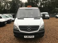 MERCEDES BENZ SPRINTER 313 CDI XLWB 14FT 4IN DROPSIDE 6 SPEED **ALLOY BODY!!! - 1097 - 14