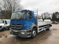 MERCEDES BENZ AXOR 1824 EURO 5 *BRAND NEW BODY* 26 FT ALLOY DROPSIDE - 908 - 1