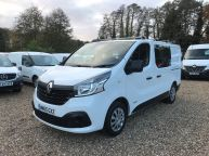 RENAULT TRAFIC SL27 SWB **CREW VAN WITH AIR CON** L1H1 BUSINESS PLUS 1.6 DCI  - 1131 - 1