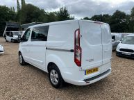 FORD TRANSIT CUSTOM 290 LIMITED SWB *6 SEAT CREWVAN* 2.2 TDCI 125 *6 SPEED!!! - 1330 - 27
