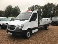 MERCEDES BENZ SPRINTER 313 CDI XLWB 14FT 4IN DROPSIDE 6 SPEED **ALLOY BODY!!! - 1097 - 1