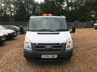 FORD TRANSIT 350 E/F LWB CREWCAB DROPSIDE WITH CAGE 2.4 TDCI *AIR CON!!! - 994 - 17