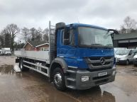 MERCEDES BENZ AXOR 1824 EURO 5 *BRAND NEW BODY* 26 FT ALLOY DROPSIDE - 908 - 3