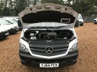 MERCEDES BENZ SPRINTER 313 CDI XLWB 14FT 4IN DROPSIDE 6 SPEED **ALLOY BODY!!! - 1097 - 21