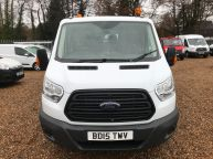 FORD TRANSIT 350 DOUBLE CAB TIPPER 125 BHP 2.2 TDCI **6 SPEED!!! - 1129 - 15