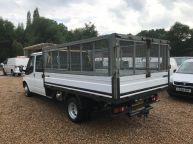 FORD TRANSIT 350 E/F LWB CREWCAB DROPSIDE WITH CAGE 2.4 TDCI *AIR CON!!! - 994 - 23