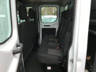 FORD TRANSIT 350 DOUBLE CAB TIPPER 125 BHP 2.2 TDCI **6 SPEED!!! - 1129 - 16