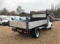 FORD TRANSIT 350 SINGLE CAB TIPPER WITH TOOLBOX **BRAND NEW BODY** 2.2 TDCI *6 SPEED!!!  - 1139 - 28
