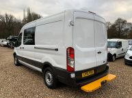 FORD TRANSIT 350 L3H2 LWB MESS VAN WITH TOILET **ONLY 9700 MILES** 2.2 TDCI *6 SPEED!!! - 1200 - 24