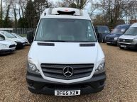 MERCEDES BENZ SPRINTER 313 CDI **FRIDGE / FREEZER WITH OVERNIGHT STANDBY** MWB HIGH ROOF  - 1196 - 15