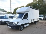 MERCEDES BENZ SPRINTER 313 CDI LWB 14FT CURTAINSIDER WITH BARN DOORS!!! - 852 - 1