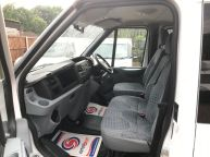 FORD TRANSIT 350 E/F LWB CREWCAB DROPSIDE WITH CAGE 2.4 TDCI *AIR CON!!! - 994 - 9