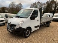 RENAULT MASTER LL35 LWB DROPSIDE 2.3 DCI 125 BHP BUSINESS *6 SPEED!!! - 1211 - 1