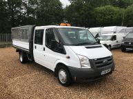 FORD TRANSIT 350 E/F LWB CREWCAB DROPSIDE WITH CAGE 2.4 TDCI *AIR CON!!! - 994 - 3