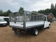 FORD TRANSIT 350 E/F LWB CREWCAB DROPSIDE WITH CAGE 2.4 TDCI *AIR CON!!! - 994 - 25