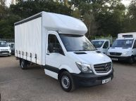 MERCEDES BENZ SPRINTER 313 CDI LWB 14FT CURTAINSIDER WITH BARN DOORS!!! - 852 - 3