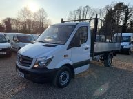 MERCEDES BENZ SPRINTER 313 CDI MWB *AUTOMATIC* NEW TIPPER BODY WITH CAGE *CHOICE OF 3!!! - 1239 - 1