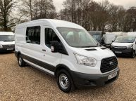 FORD TRANSIT 350 L3H2 LWB MESS VAN WITH TOILET **ONLY 9700 MILES** 2.2 TDCI *6 SPEED!!! - 1200 - 3