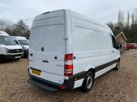 MERCEDES BENZ SPRINTER 313 CDI **FRIDGE / FREEZER WITH OVERNIGHT STANDBY** MWB HIGH ROOF  - 1196 - 23