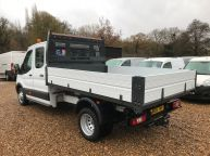 FORD TRANSIT 350 DOUBLE CAB TIPPER 125 BHP 2.2 TDCI **6 SPEED!!! - 1129 - 28