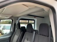 FORD TRANSIT 350 L3H2 LWB MESS VAN WITH TOILET **ONLY 9700 MILES** 2.2 TDCI *6 SPEED!!! - 1200 - 10