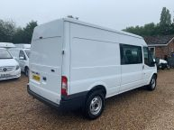 FORD TRANSIT 350 *6 SEAT CREWVAN* LWB MEDIUM ROOF 2.2 TDCI *6 SPEED!!! - 1288 - 24