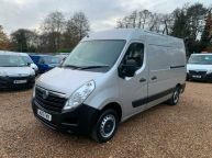 VAUXHALL MOVANO  3500 MWB **AIR CON** MEDIUM ROOF 2.3 CDTI *6 SPEED!!! - 1434 - 1