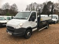 IVECO DAILY 70C17 XLWB 3.0 DROPSIDE WITH TAIL LIFT 170 BHP *6 SPEED!!! - 1156 - 1