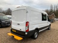 FORD TRANSIT 350 L3H2 LWB MESS VAN WITH TOILET **ONLY 9700 MILES** 2.2 TDCI *6 SPEED!!! - 1200 - 26