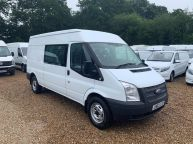 FORD TRANSIT 350 *6 SEAT CREWVAN* LWB MEDIUM ROOF 2.2 TDCI *6 SPEED!!! - 1288 - 4