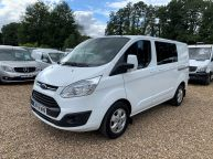 FORD TRANSIT CUSTOM 290 LIMITED SWB *6 SEAT CREWVAN* 2.2 TDCI 125 *6 SPEED!!! - 1330 - 1
