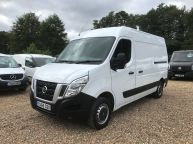 NISSAN NV400 2.3 DCI MWB L2H2 *ONLY 36600 MILES* HIGH ROOF SE **6 SPEED!!! - 1090 - 1