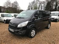 FORD TRANSIT CUSTOM 270 SWB LIMITED **AIR CON** 125BHP 2.2 TDCI *Sorry Now Sold!!! - 1153 - 1