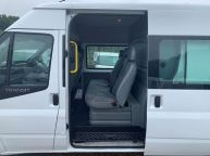 FORD TRANSIT 350 *6 SEAT CREWVAN* LWB MEDIUM ROOF 2.2 TDCI *6 SPEED!!! - 1288 - 17
