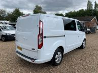 FORD TRANSIT CUSTOM 290 LIMITED SWB *6 SEAT CREWVAN* 2.2 TDCI 125 *6 SPEED!!! - 1330 - 29