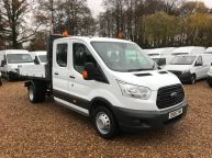 FORD TRANSIT 350 DOUBLE CAB TIPPER 125 BHP 2.2 TDCI **6 SPEED!!! - 1129 - 3