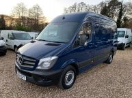MERCEDES BENZ SPRINTER 313 CDI MWB HIGH ROOF 130BHP 6 SPEED *CRUISE CONTROL!!!  - 1166 - 1
