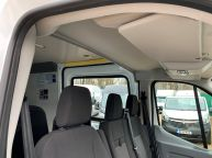 FORD TRANSIT 350 L3H2 LWB MESS VAN WITH TOILET **ONLY 9700 MILES** 2.2 TDCI *6 SPEED!!! - 1200 - 11