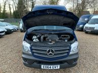 MERCEDES BENZ SPRINTER 313 CDI MWB HIGH ROOF 130BHP 6 SPEED *CRUISE CONTROL!!!  - 1166 - 18